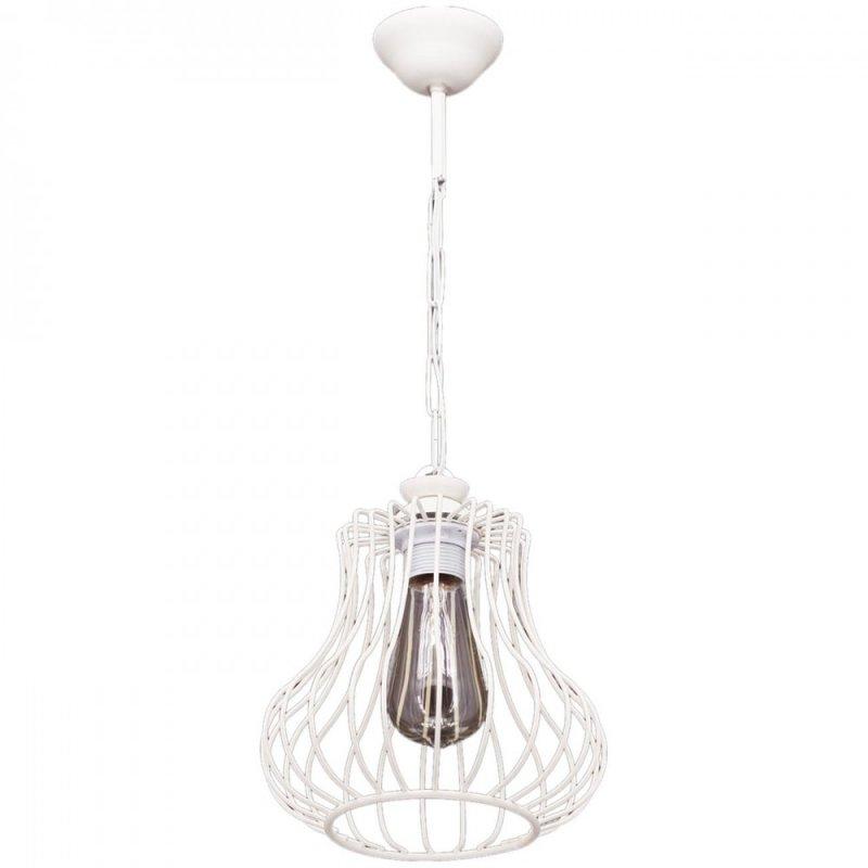 """Φωτιστικό οροφής """"DEREN"""" μονόφωτο μεταλλικό σε χρώμα λευκό 22x22x55 GA-210001026601"""