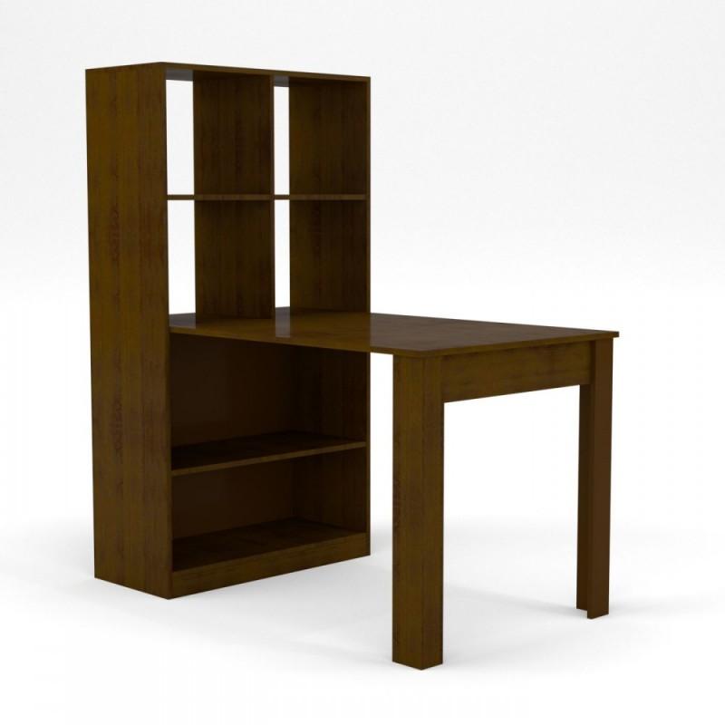Γραφείο-τραπέζι σε βέγγε χρώμα 80x134x151