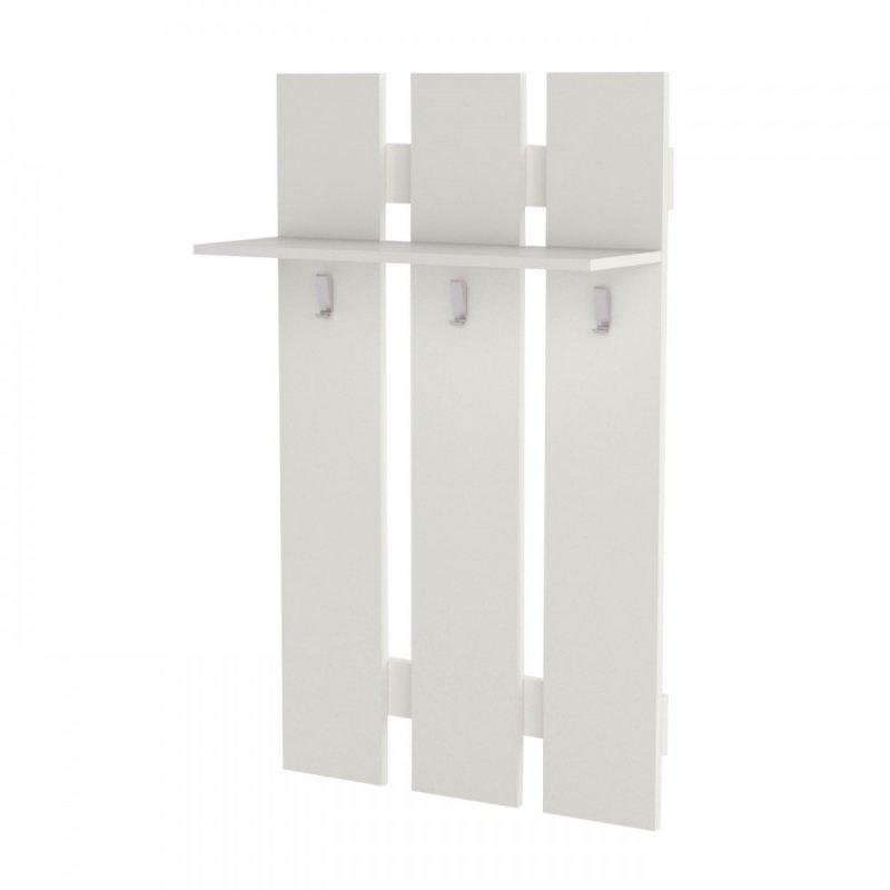"""Κρεμάστρα τοίχου """"WIE"""" σε χρώμα λευκό 60x23x100"""