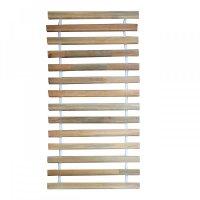 Τάβλες κρεβατιού από μαφισφ ξύλο με ιμάντα 90x200