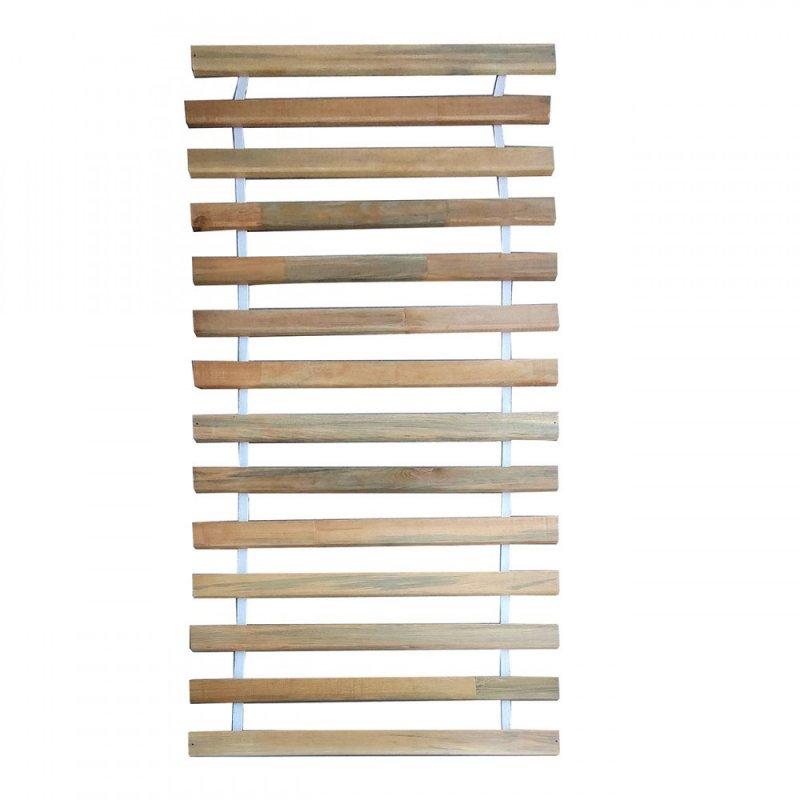 Τάβλες κρεβατιού από μασιφ ξύλο με ιμάντα 90x200