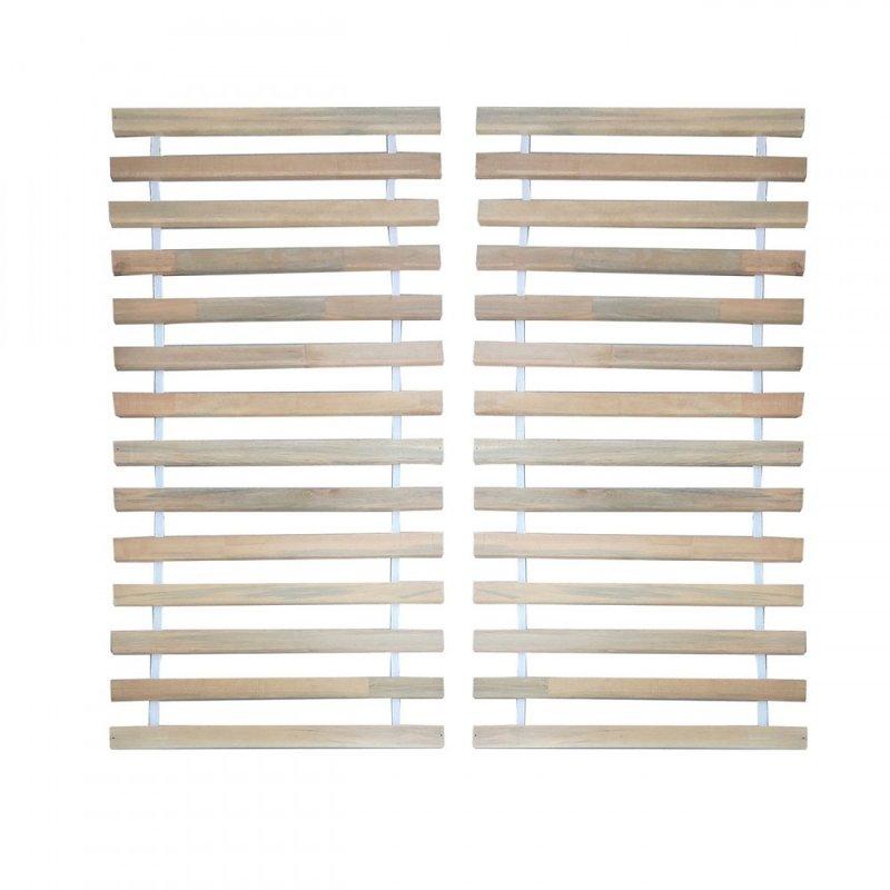 Τάβλες κρεβατιού από μασιφ με ιμάντα 160x200