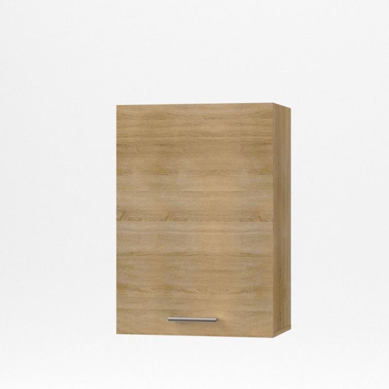 """Πάνω ντουλάπι κουζίνας """"ALINA"""" σε χρώμα σονόμα 50x30,5x71,8"""