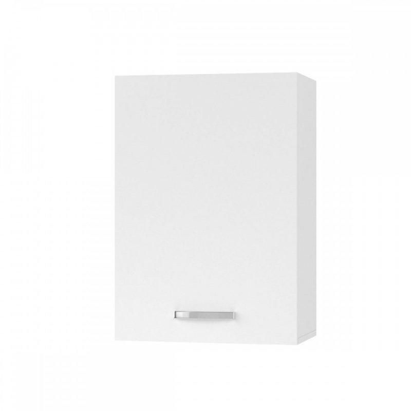 """Πάνω ντουλάπι κουζίνας """"CHARLOTΤE"""" σε χρώμα λευκό 50x30.5x71.8"""