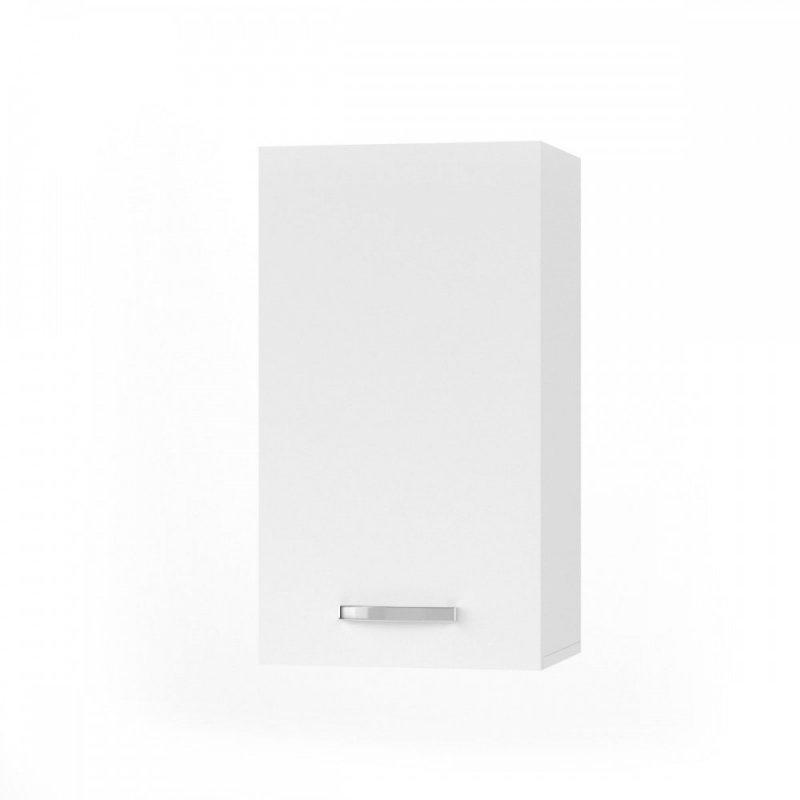 """Πάνω ντουλάπι κουζίνας """"CHARLOTΤE"""" σε χρώμα λευκό 40x30.5x71.8"""