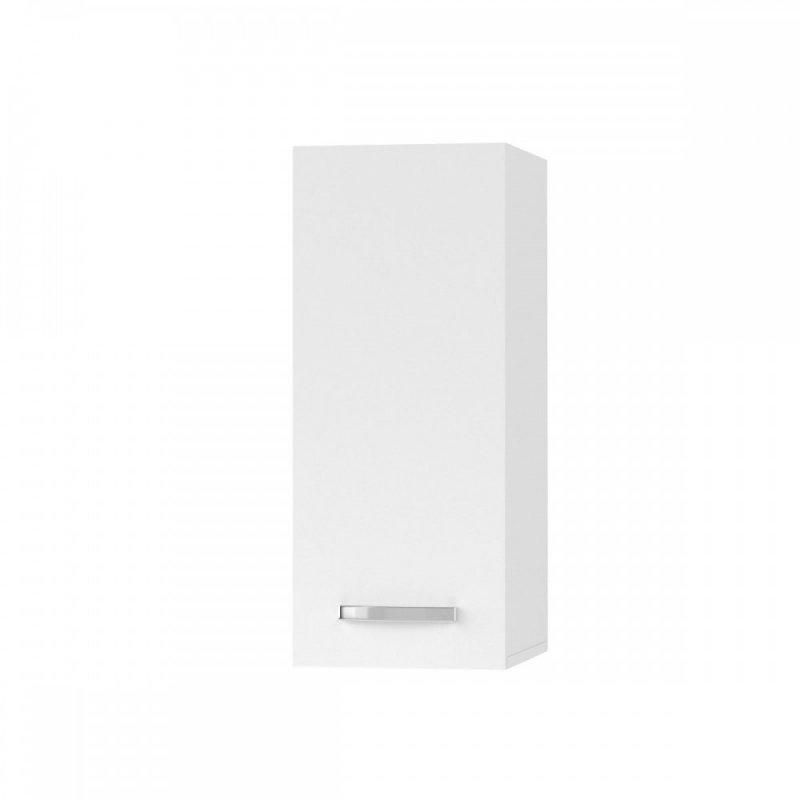 """Πάνω ντουλάπι κουζίνας """"CHARLOTΤE"""" σε χρώμα λευκό 30x30.5x71.8"""