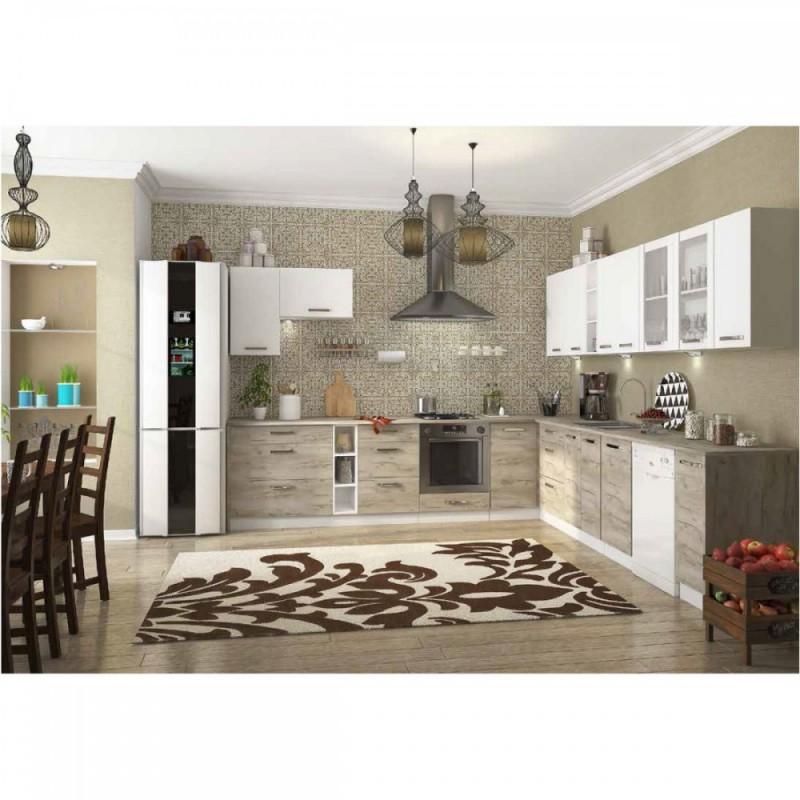 """Κάτω ντουλάπι κουζίνας """"CHARLOTΤE"""" σε χρώμα λευκό 40x46.5x82"""