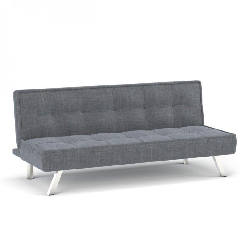 """Καναπές-κρεβάτι """"CHIC"""" υφασμάτινος σε γκρι χρώμα 175x83x74"""