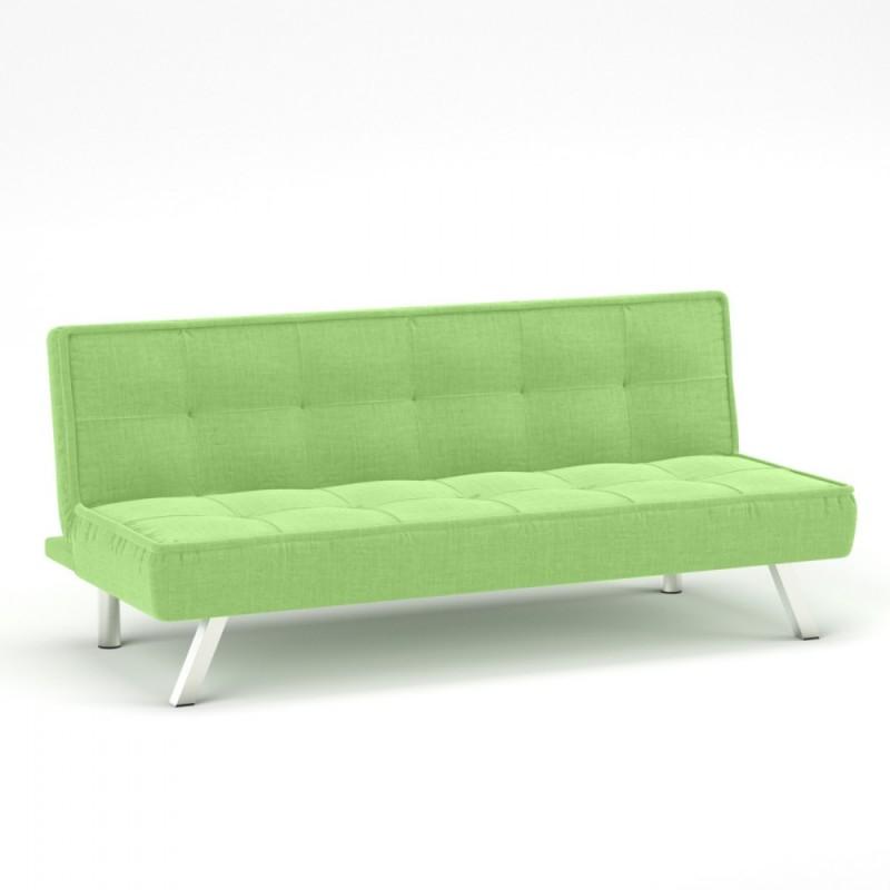 """Καναπές-κρεβάτι """"CHIC"""" υφασμάτινος σε λαχανί χρώμα 175x83x74"""