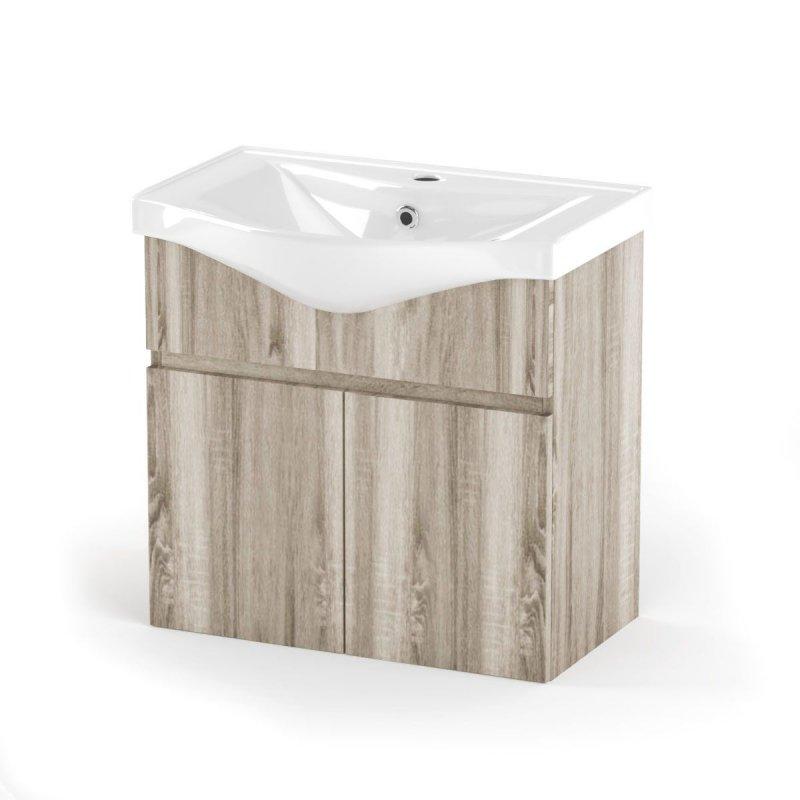 """Έπιπλο μπάνιου """"ODELIA"""" σε σονόμα χρώμα 65x45x62"""