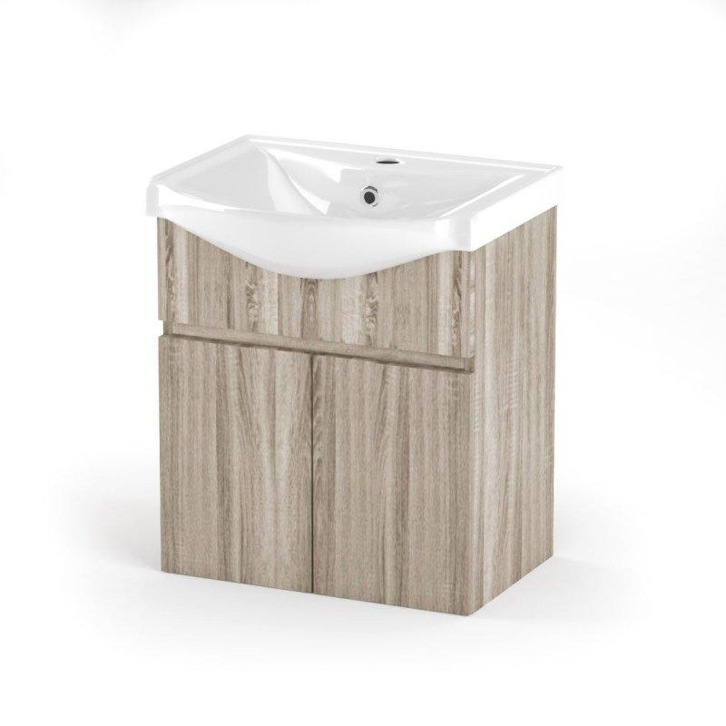 """Έπιπλο μπάνιου """"ODELIA"""" σε σονόμα χρώμα 55x45x62"""