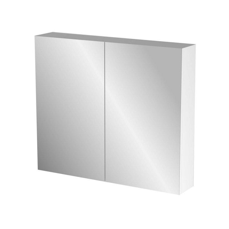"""Καθρέπτης μπάνιου """"BIANCA"""" σε λευκό χρώμα 76x14x65"""