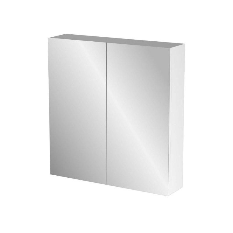 """Καθρέπτης μπάνιου """"BIANCA"""" σε λευκό χρώμα 71x14x65"""
