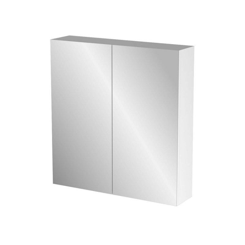 """Καθρέπτης μπάνιου """"BIANCA"""" σε λευκό χρώμα 62x14x65"""