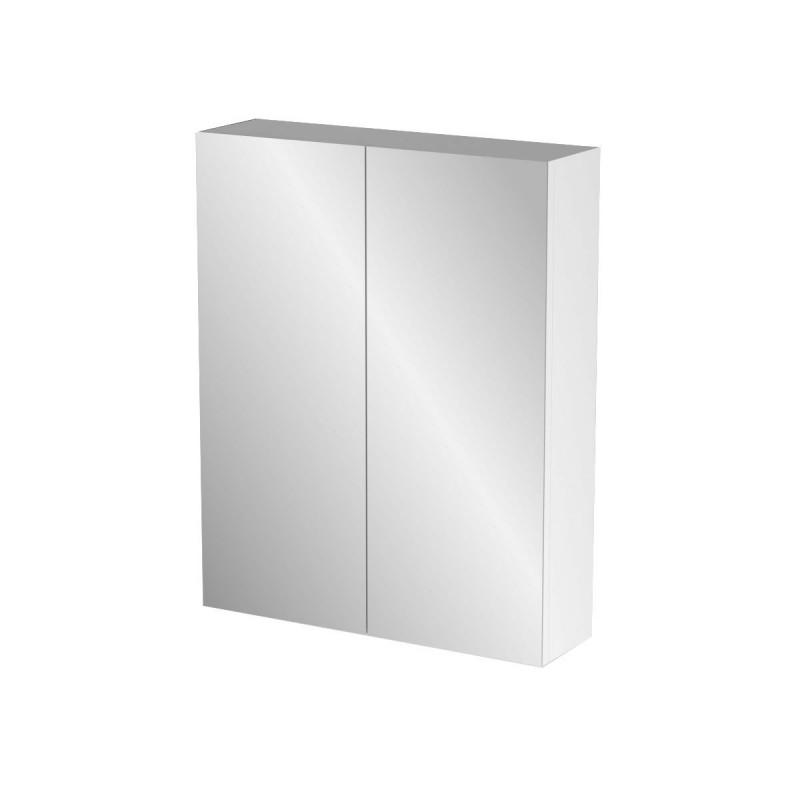 """Καθρέπτης μπάνιου """"BIANCA"""" σε λευκό χρώμα 52x14x65"""