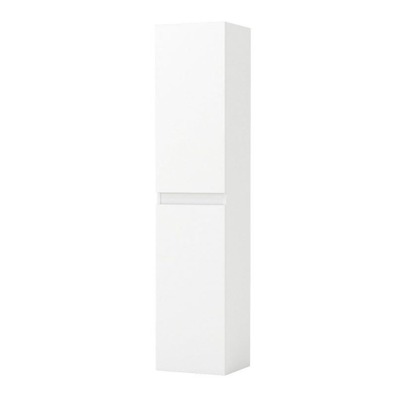 """Στήλη μπάνιου """"BIANCA"""" σε χρώμα λευκό gloss 35x30x160"""