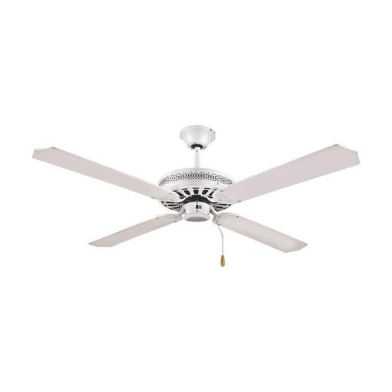 """Ανεμιστήρας οροφής """"COOL WAVE"""" σε χρώμα λευκό Φ130x40"""