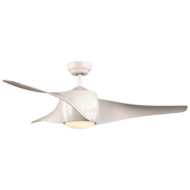 """Ανεμιστήρας οροφής """"COOL WAVE"""" σε χρώμα λευκό Φ132x38"""