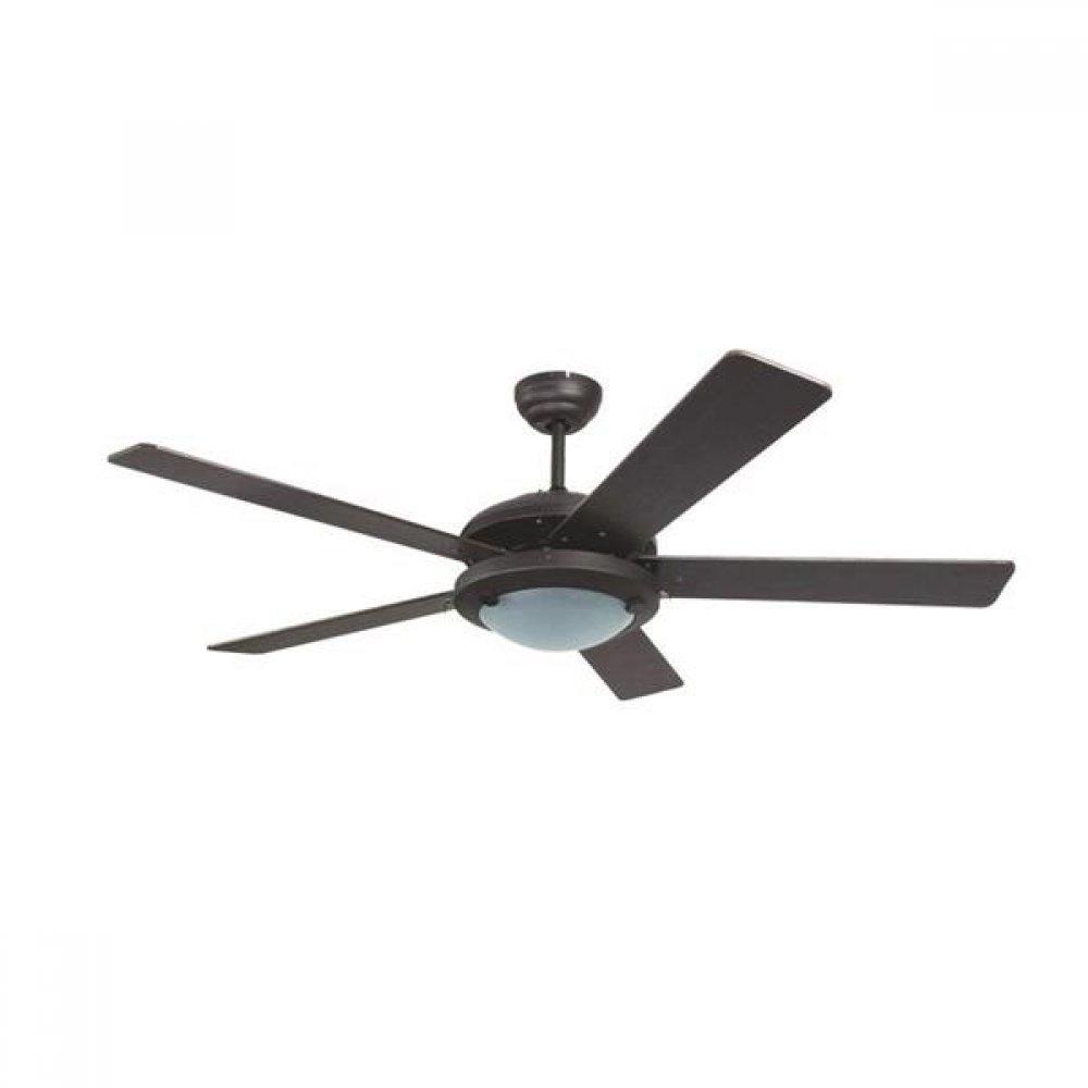 """Ανεμιστήρας οροφής """"COOL WAVE"""" σε χρώμα μαύρο Φ130x45"""