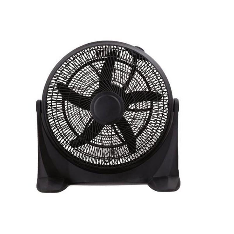 """Ανεμιστήρας επιτραπέζιος """"COOL WAVE"""" σε χρώμα μαύρο Φ50x59"""