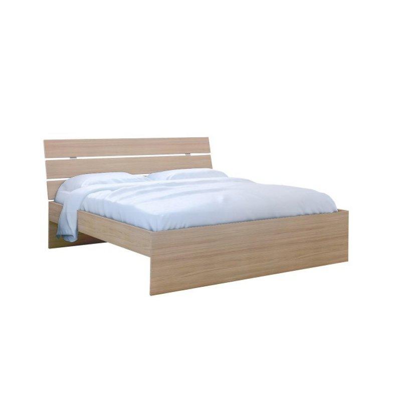 """Κρεβάτι """"ΝΟΤΑ"""" διπλό σε χρώμα δρυς 150x200"""