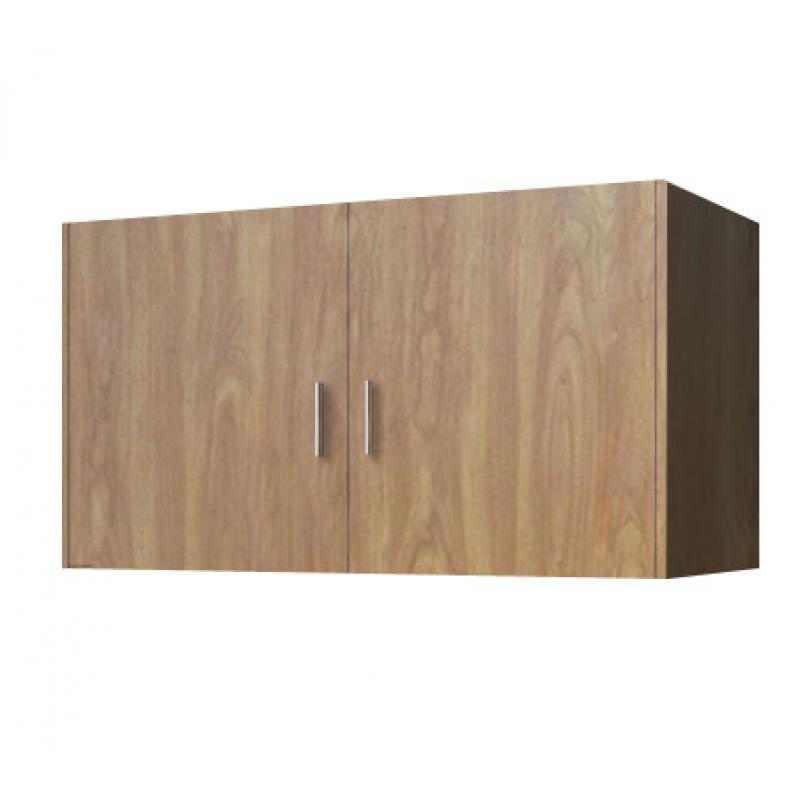 Πατάρι ντουλάπας δίφυλλο σε χρώμα ανιγκρέ 105x50x60