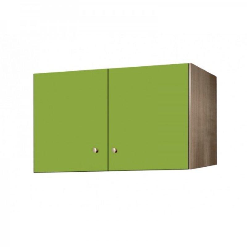 Πατάρι ντουλάπας δίφυλλο σε χρώμα δρυς-λαχανί 105x50x60
