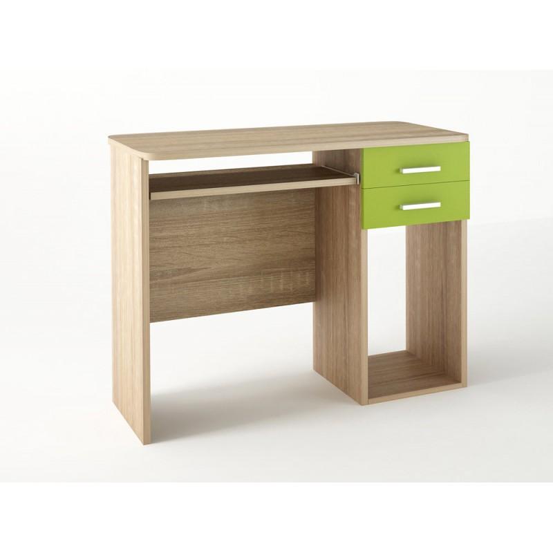 Παιδικό γραφείο σε χρώμα δρυς-λαχανί 100x55x80