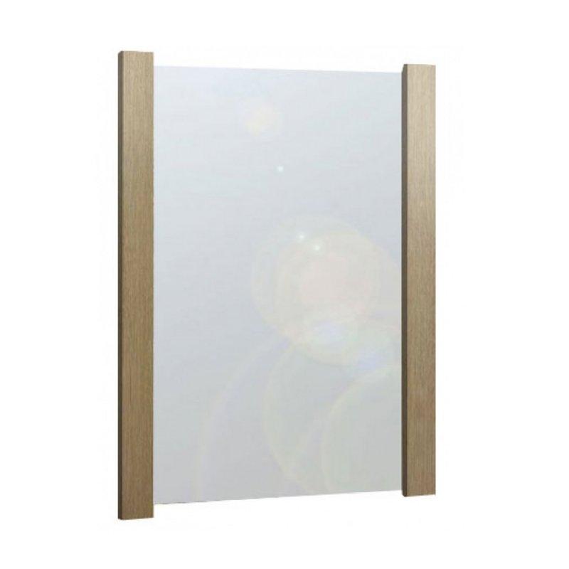 Καθρέπτης σε χρώμα δρυς 75x90