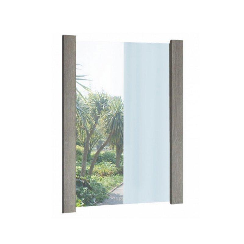Καθρέπτης σε χρώμα σταχτί 75x90