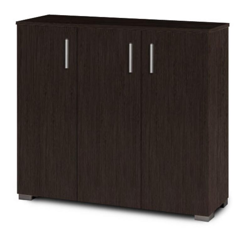 Παπουτσοθήκη-ντουλάπι σε χρώμα βέγγε 100x36x92
