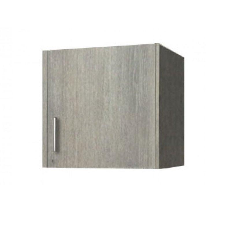 Πατάρι ντουλάπας μονόφυλλο σε χρώμα σταχτί 48x50x60