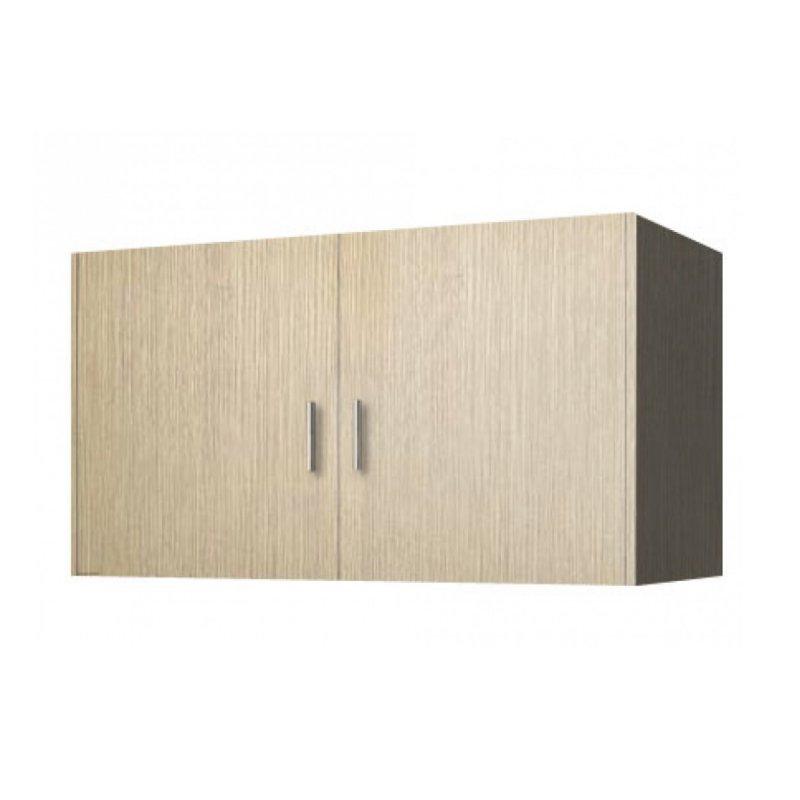 Πατάρι ντουλάπας δίφυλλο σε χρώμα δρυς 85x50x60