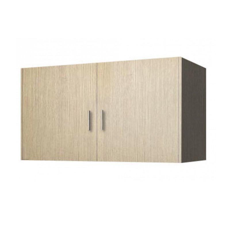Πατάρι ντουλάπας δίφυλλο σε χρώμα δρυς 105x50x60