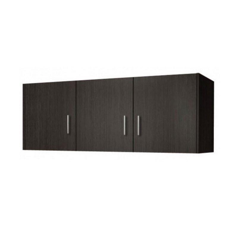 Πατάρι ντουλάπας τρίφυλλο σε χρώμα βέγγε 110x50x60