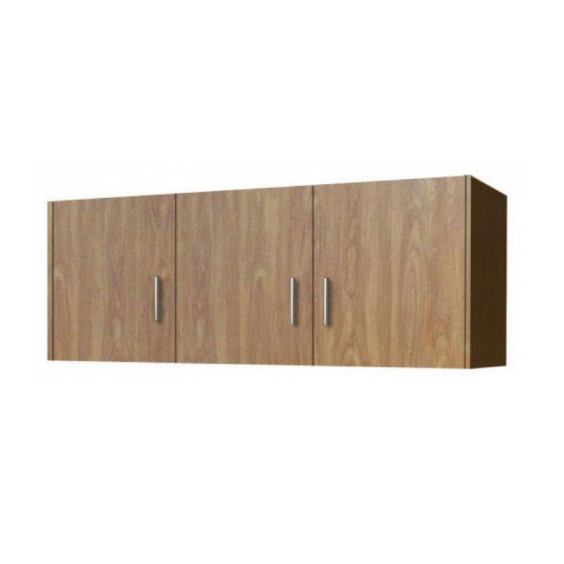 Πατάρι ντουλάπας τρίφυλλο σε χρώμα ανιγκρέ 110x50x60