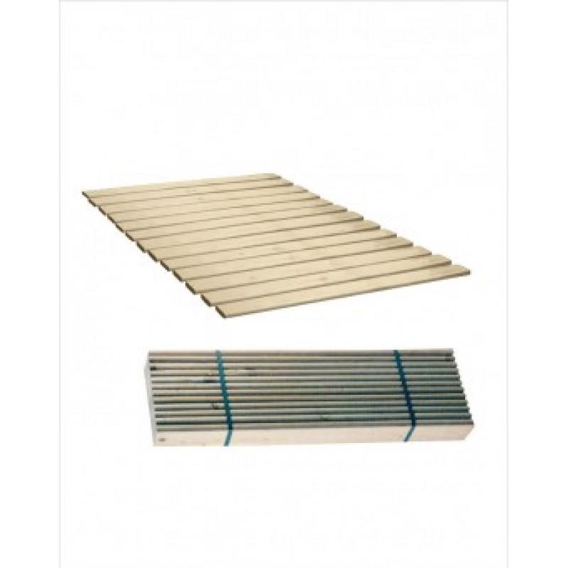 Τάβλες κρεβατιού από μασιφ ξύλο 150x190