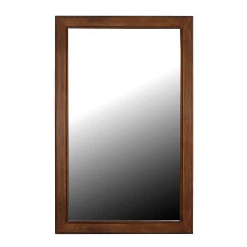 """Καθρέπτης """"SISSY"""" ξύλινος σε χρώμα καρυδί 50X80"""