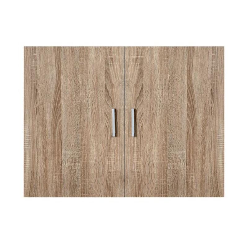 Πατάρι ντουλάπας δίφυλλο σε σονόμα χρώμα 80x42x60
