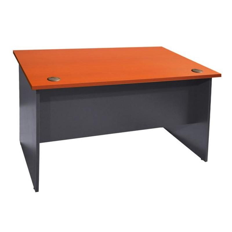 Γραφείο επαγγελματικό σε χρώμα γκρι-κερασί 150x70x74