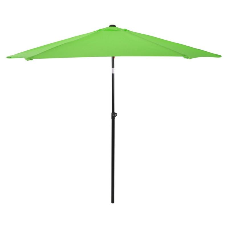 Ομπρέλα μεταλλική σε χρώμα λαχανί με 6 ακτίνες Φ270x257