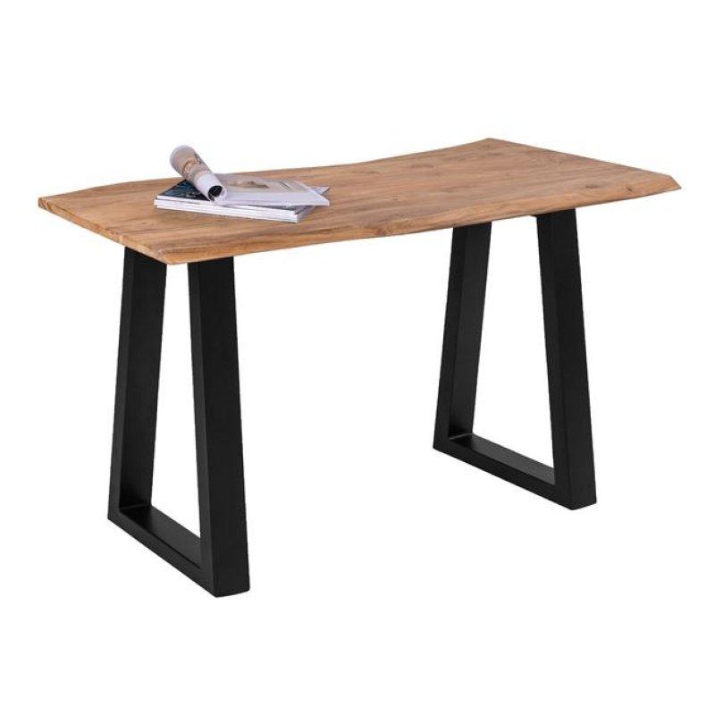 """Τραπέζι-κονσόλα """"SOFIA SLIM"""" από ξύλο ακακίας σε χρώμα φυσικό χρώμα 130x45x76"""