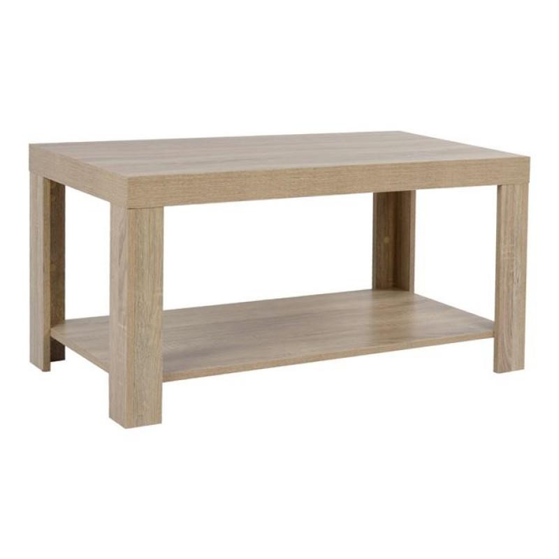 Τραπέζι σαλονιού σε χρώμα σονόμα 90x45x45