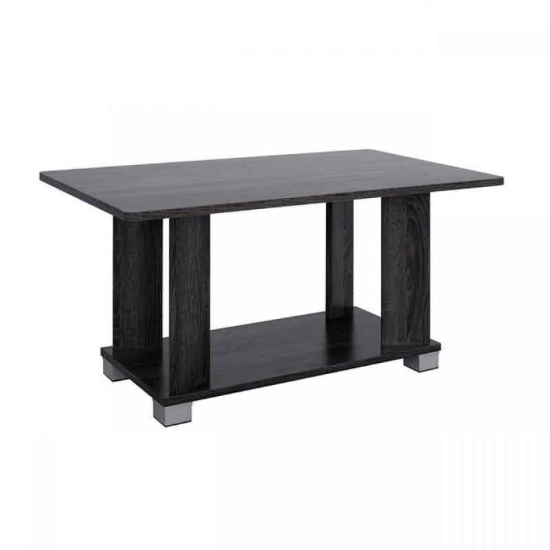 Τραπέζι σαλονιού σε χρώμα ανθρακί 80x46x41