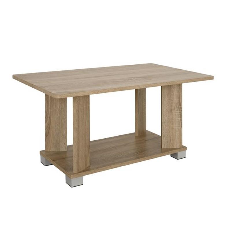 Τραπέζι σαλονιού σε χρώμα σονόμα 80x46x41