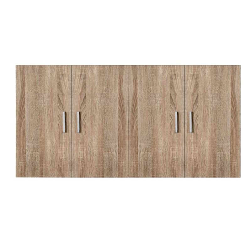 Πατάρι τετράφυλλης ντουλάπας σε χρώμα σονόμα 120x42x60