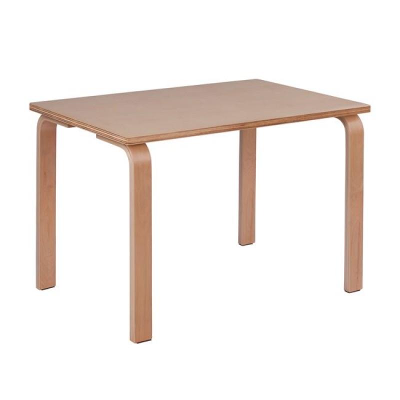 """Τραπέζι παιδικό """"BERRY"""" σε χρώμα φυσικό 80x50x54"""