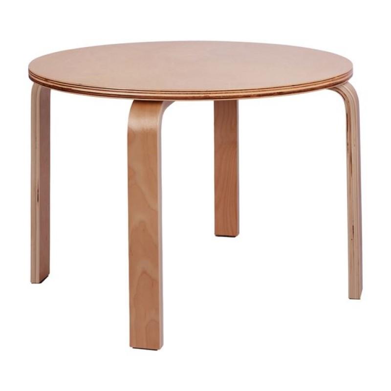 """Τραπέζι παιδικό """"JERRY"""" στρόγγυλο σε χρώμα φυσικό Φ69"""