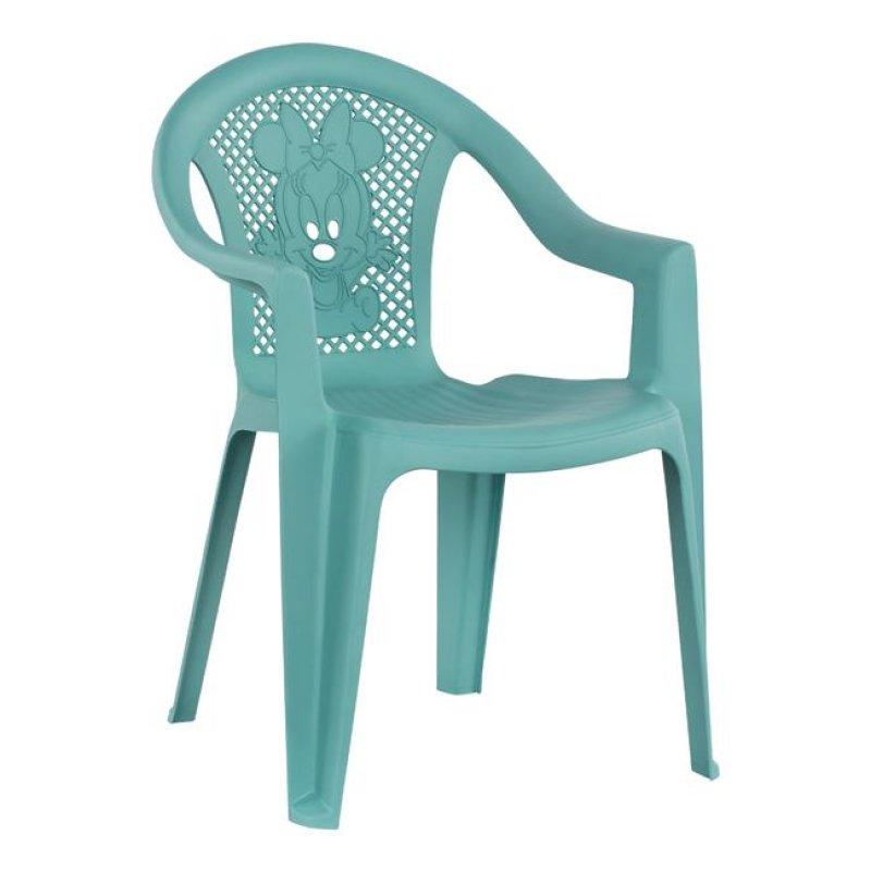 Καρέκλα παιδική από PP σε χρώμα γαλάζιο 37,5x35x53,5