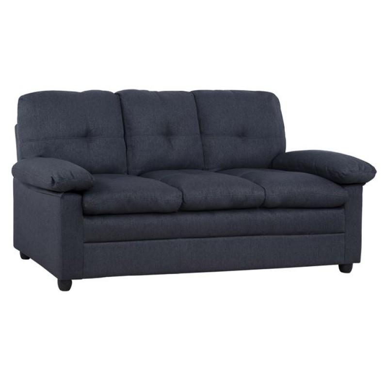 """Καναπές """"HECTOR"""" τριθέσιος από ύφασμα σε χρώμα γκρι 193x84x93"""